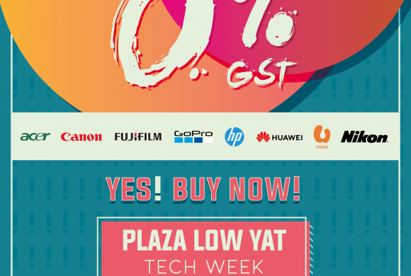 IT'S ALL NOW 0% GST!